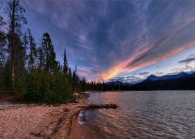 Red Fish Lake . . . .