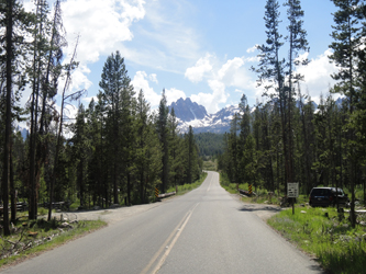Along the highway heading for Stanley, Idaho - Summer 2011, Courtesy of Mick Hove, '63 . . .
