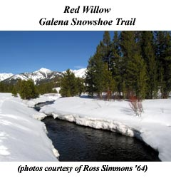 Red Willow - Galena Snowshoe Trail . . .
