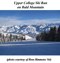 Upper College Ski Run - Sun Valley, Idaho . . .