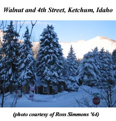 Walnut and 4th Street in Ketchum, Idaho - January 2008 . . .